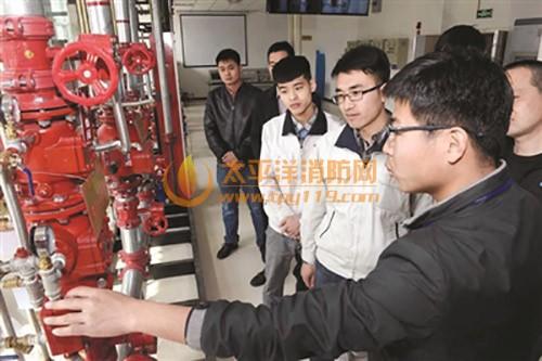 天津首家民营消防学校开学