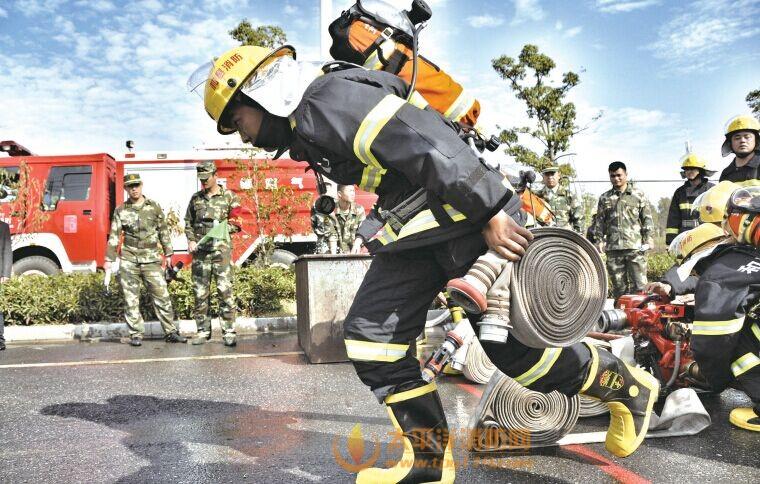 """专职消防队""""专业化""""之路"""