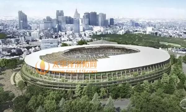 """以""""木与绿""""为主题的东京奥运会场馆设计"""