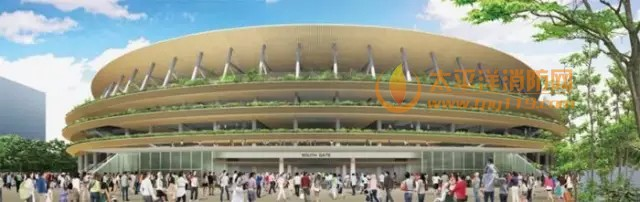 隈研吾的东京奥运场馆设计方案
