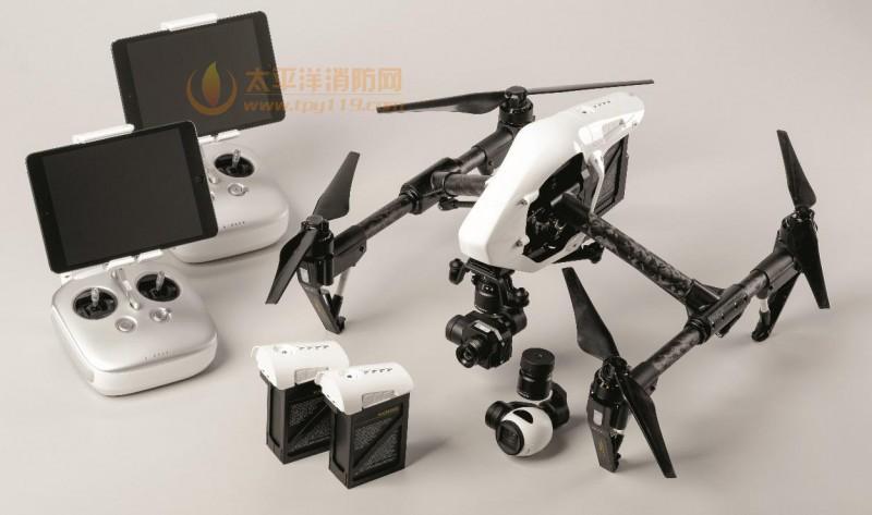 禅思Zenmuse XT防抖热像仪和Inspire 1无人机整合