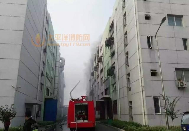 江苏丹阳一电镀厂起火致1死21伤