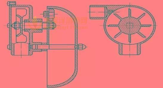 水力警铃结构