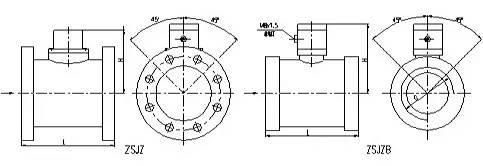 水流指示器结构