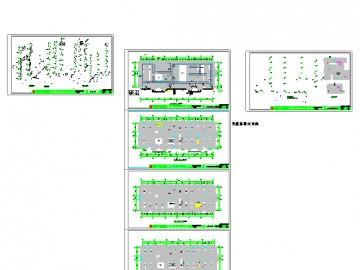 六层办公楼消防施工图