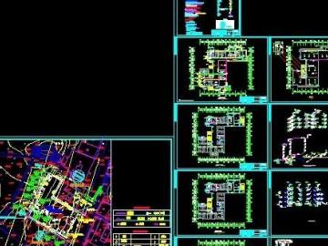 四层卫生院给排水及消防施工图