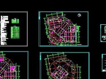 会展中心给排水及消防施工图CAD