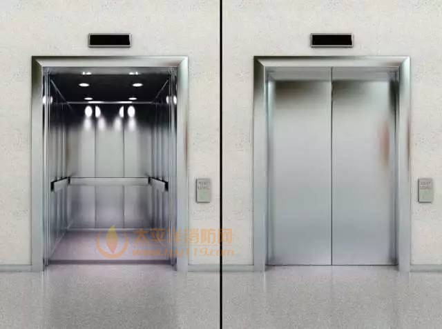 电梯门防火