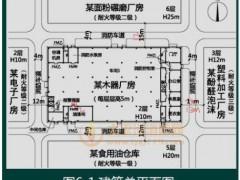 案例154:在A市工业加工区内,B单位拟建木器厂房,共2层,采用木屋顶和砖