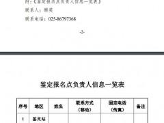 【江苏】2018年度消防职业鉴定统考通知